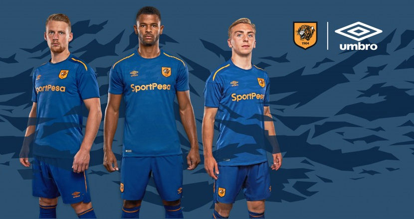 Hull city change strip