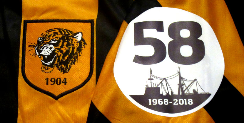 bd3adb4b8a3 Hull City Kits are delighted and privileged to have been asked by local  Trawler memorial groups to help them auction some matchworn shirts.
